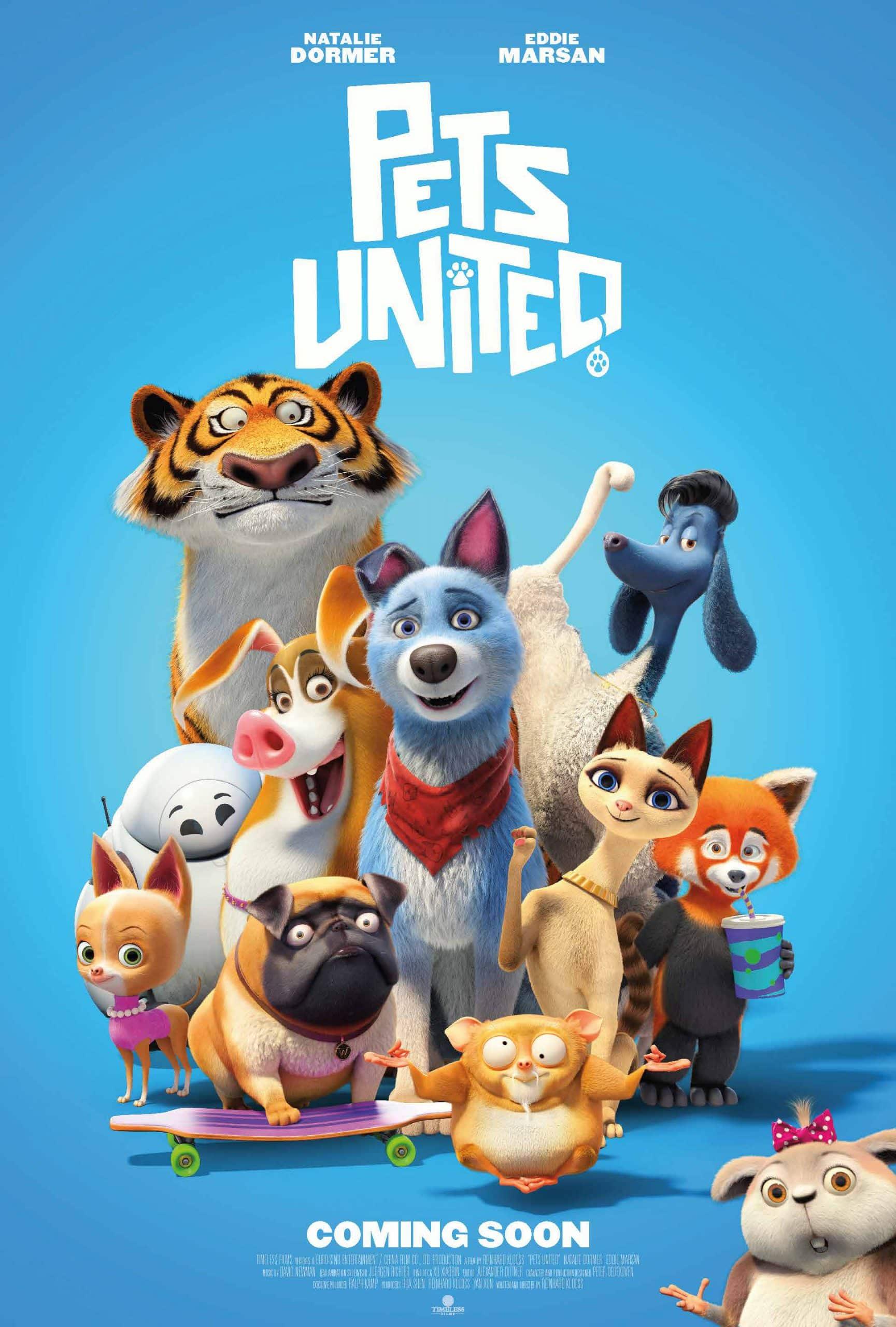 Pets United (2020) เพ็ทส์ ยูไนเต็ด: ขนปุยรวมพลัง