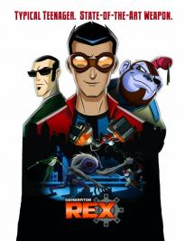 Generator Rex เร็กซ์พลังจักรกลมหาประลัย พากย์ไทย EP1 – EP60 [จบ]