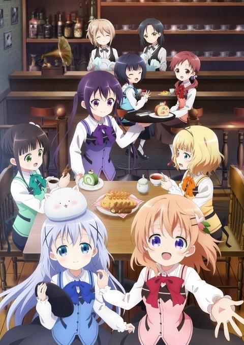 Gochuumon wa Usagi Desu ka? BLOOM รับน้องกระต่ายซักแก้วมั้ยคะ? ภาค 3 ซับไทย EP1 – EP8
