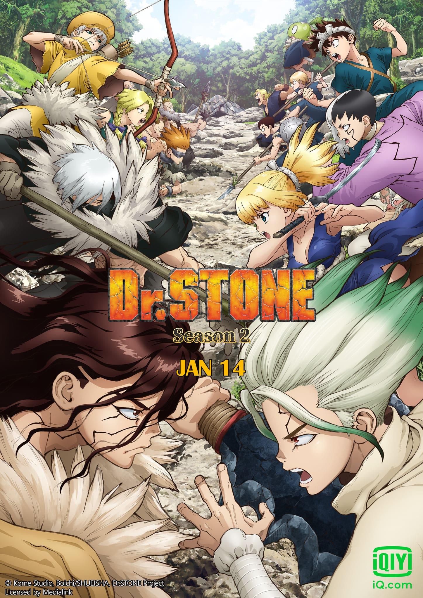 Dr.STONE Season 2 ซับไทย EP1-EP3