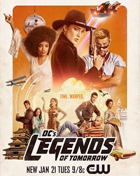 DC'S LEGENDS OF TOMORROW SEASON 5 รวมพลคนเหนือมนุษย์ ปี 5 พากย์ไทย EP1-EP7