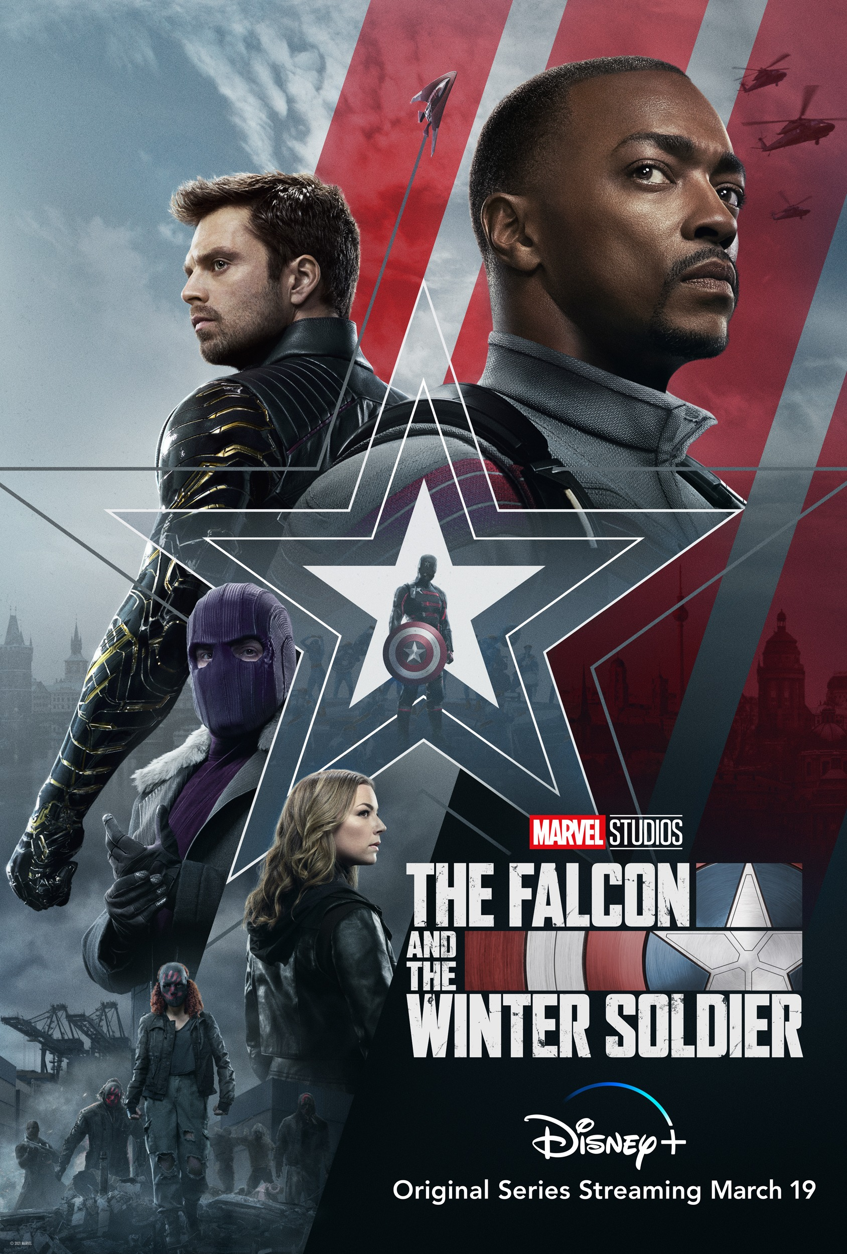 The Falcon and the Winter Soldier Season 1 ซับไทย EP1-EP5